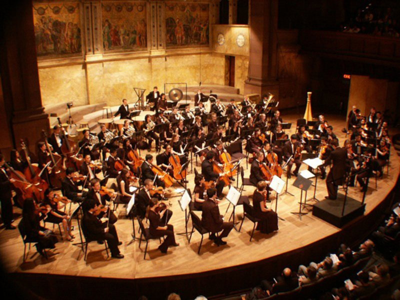 Princeton university orchestra performs october 17 18 for Orchestral house music