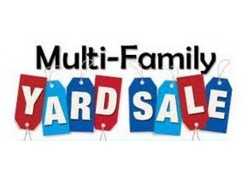 Large Multi Family Yard Sale Saturday September 19th