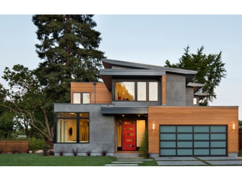 18 amazing contemporary home exterior design ideas 0 - Modern Home Exterior Siding