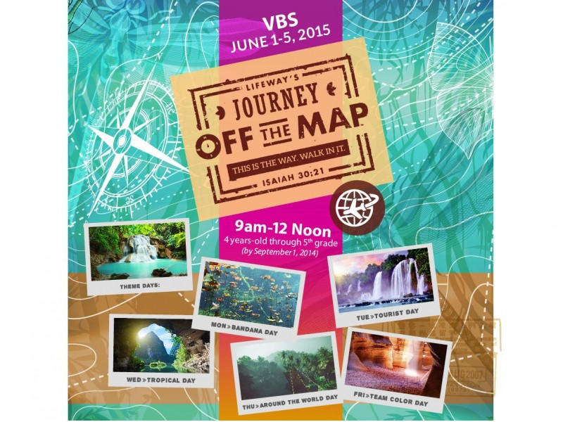 VBS 2015 Journey Off The Map - Snellville, GA Patch