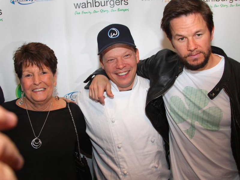 Wahlberg Family Pictures