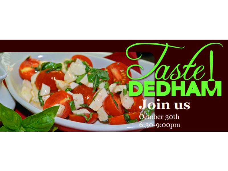 2014 Taste Dedham to be a 'Halloween Foodtacular Event'