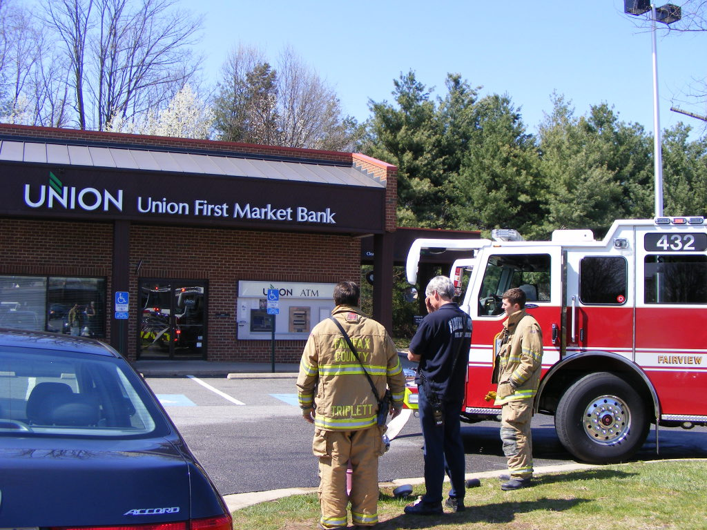 Burning Smell Brings Firefighters Out to Bank | Burke, VA Patch