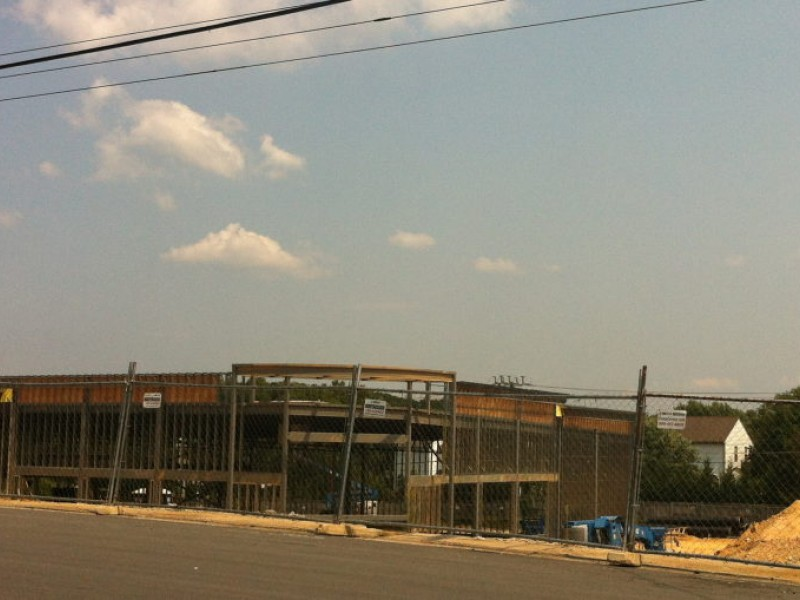 photo construction of west annandale cvs almost complete