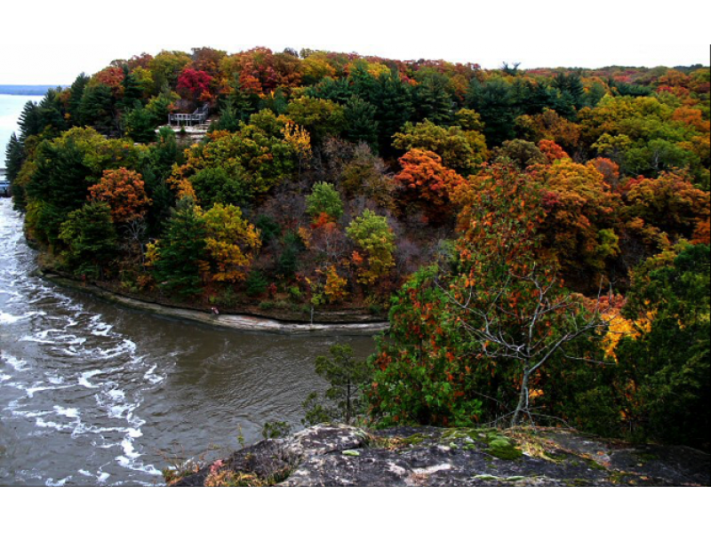 12 most popular illinois state parks to see during the fall lemont
