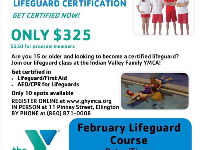 ymca to hold lifeguard certification classes | tolland, ct patch