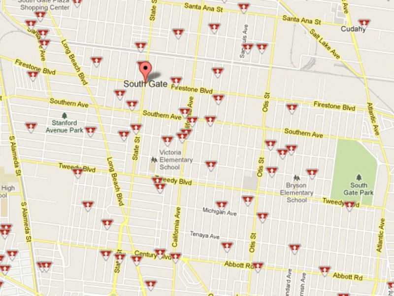 South Gate and Lynwood Sex Offenders Mapped Online South Gate CA