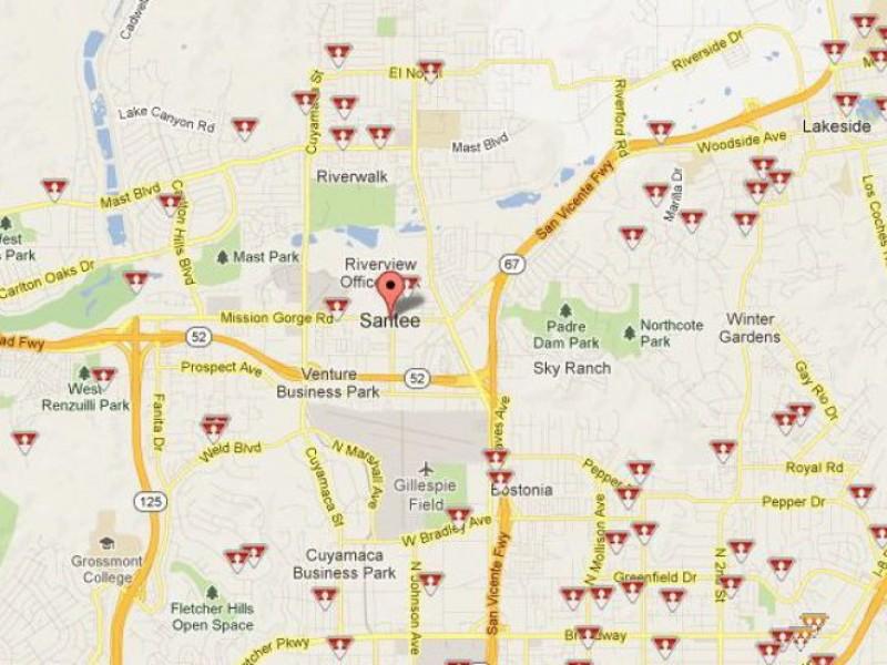 Sex offender registry map poway california