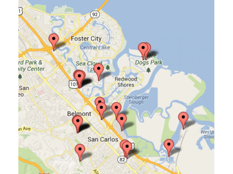 Where Are Cell Phone Towers In San Carlos San Carlos CA Patch - Cell phone tower map