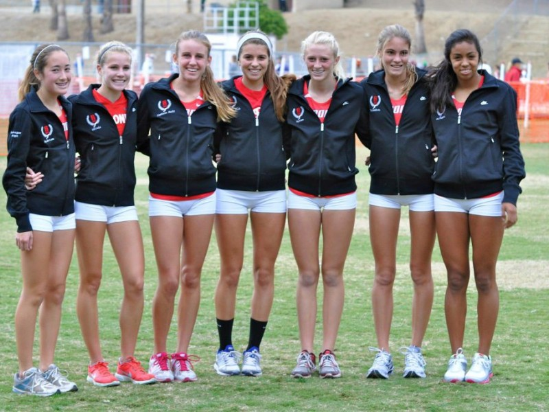 Final, sorry, Cross country girls as with