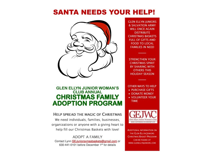 Glen Ellyn Junior Woman\'s Club Seeks Donors for Annual Family ...