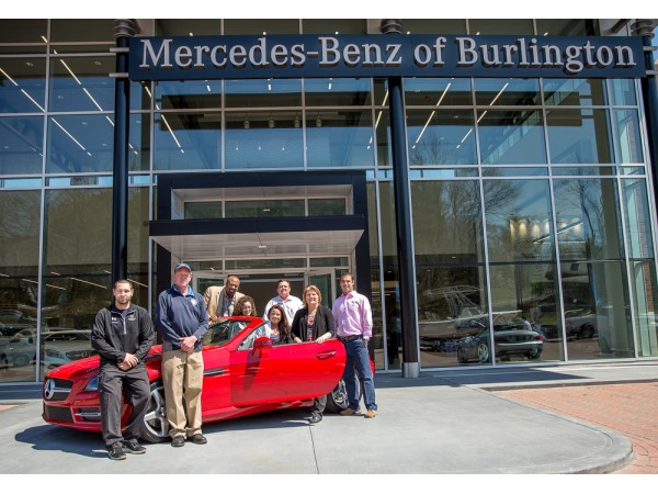 Mercedes benz of burlington raises awarness for people for Mercedes benz burlington ma