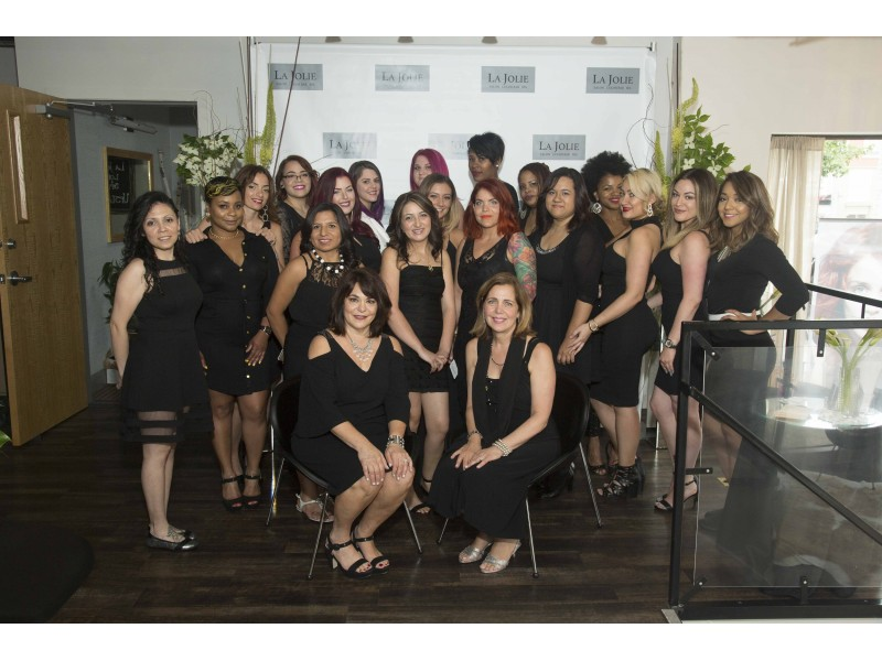 La Jolie Salon, Color Bar & Spa Celebrates Grand Re-Opening in ...