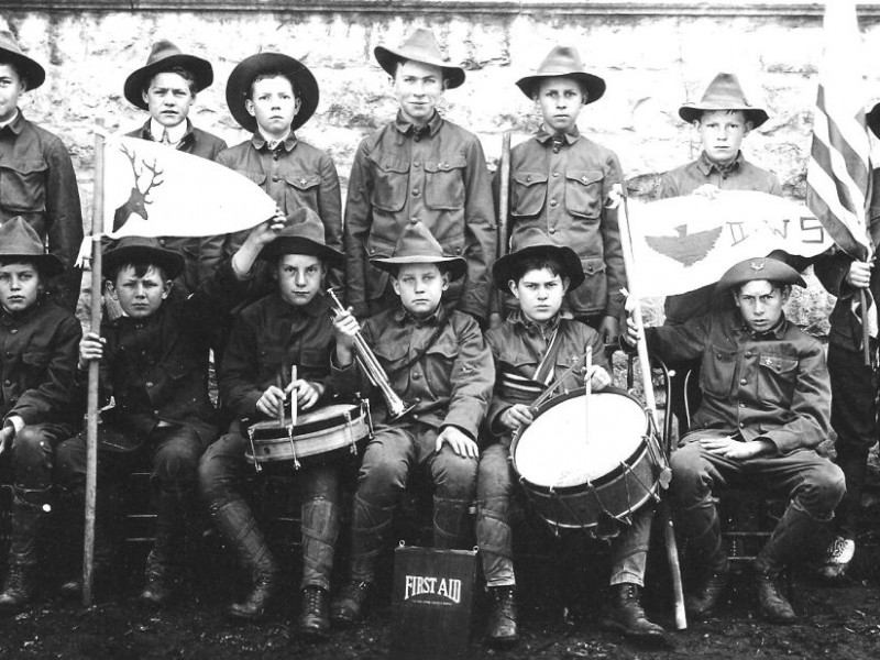 Image result for boy scouts early day