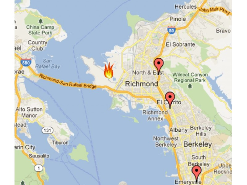 Map Post If You Could See or Smell the Smoke Healdsburg CA Patch