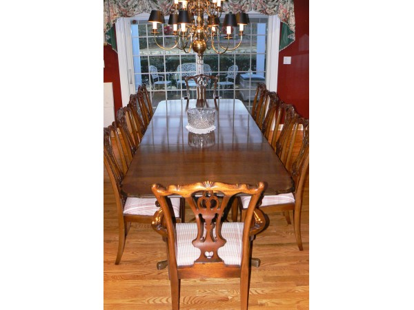 Maitland Smith Dining Set and Thomasville Server Rumson NJ Patch