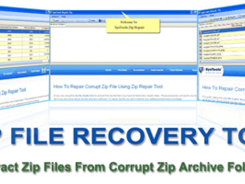 Zip Extractor Tool To Recover Corrupt Zip Archive Datbase