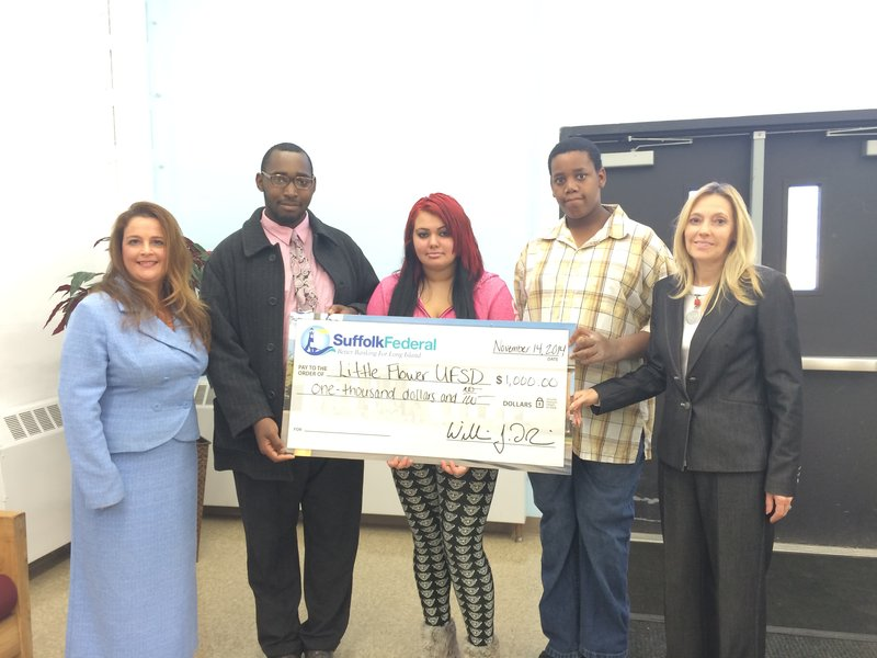 Suffolk Federal Supports Little Flower Educational Foundation Inc