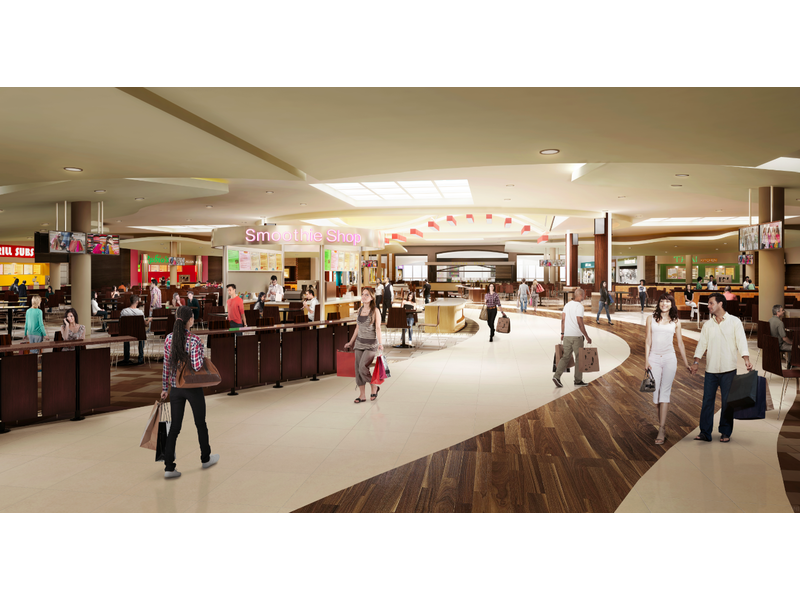 Updated Look Feel And Name Coming To The S At Mission Viejo Food Court