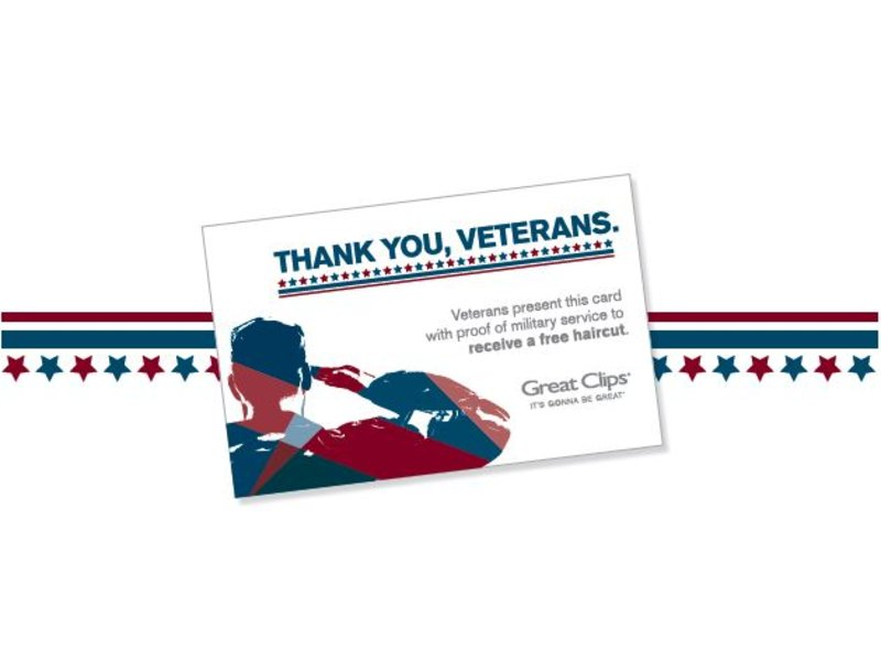 Great Clips Mansfield Honors Veterans With Free Haircuts