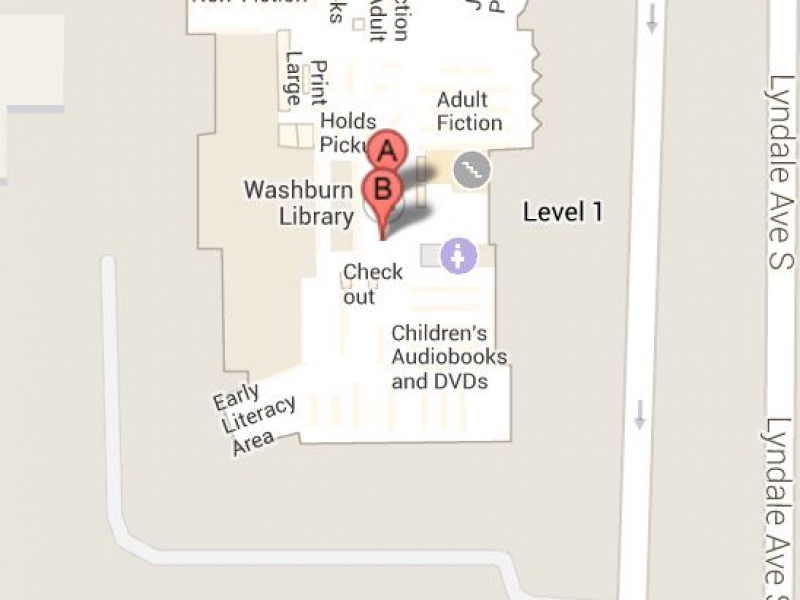 Washburn Library\'s interior now on Google Maps | Southwest ...