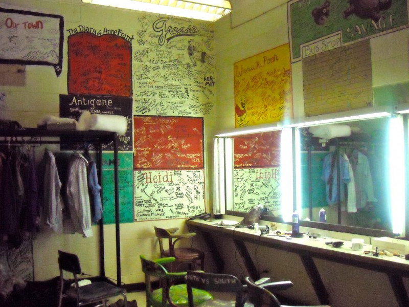 Thirty Years Of Theatricals Decorate Backstage Walls Downers Grove Il Patch