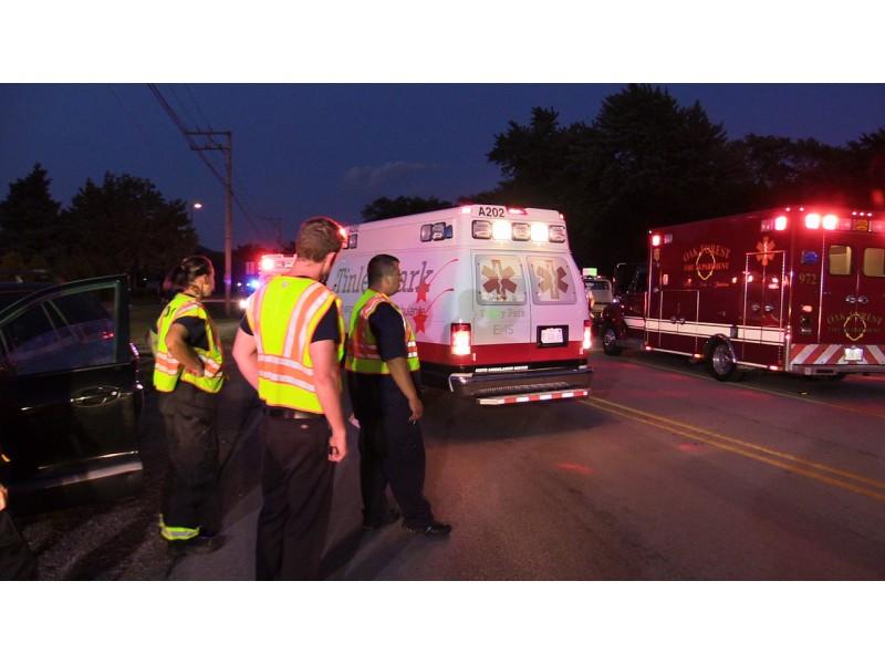 Several Injured In 2 Vehicle Tinley Park Crash Patch