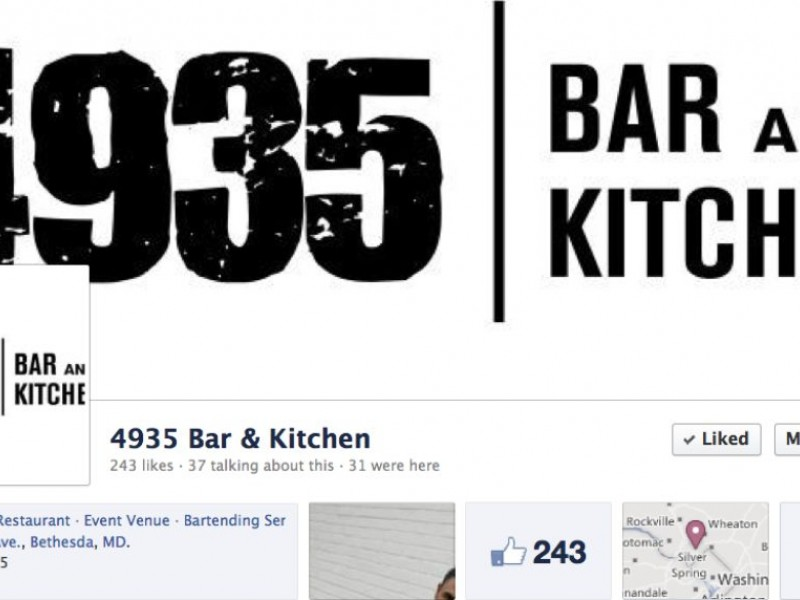 4935 Bar and Kitchen Set To Open On Cordell | Bethesda, MD Patch