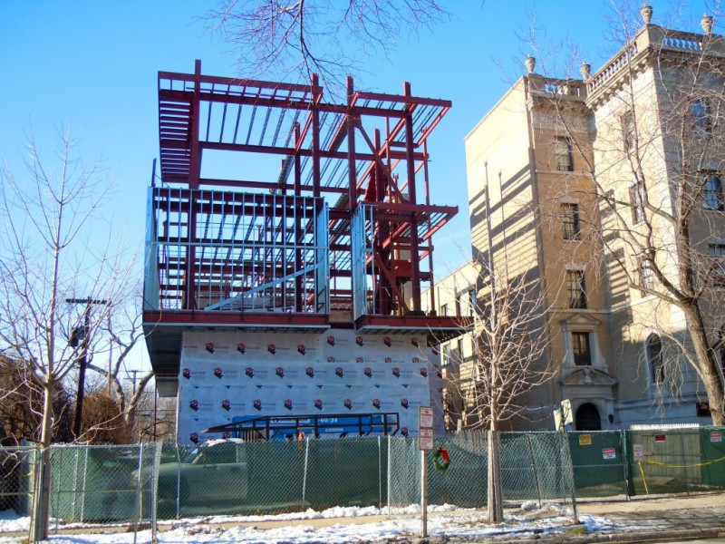 Construction Underway On Time And Glass Museum Evanston
