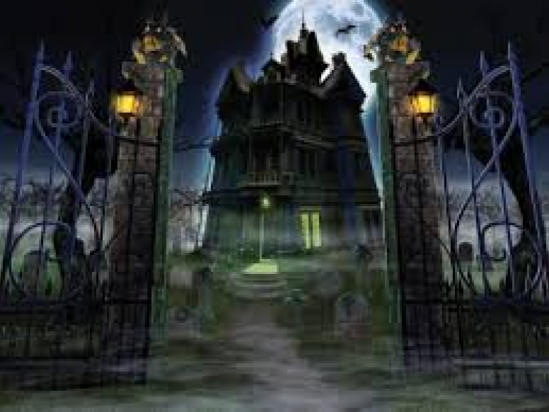 find haunted houses near evanston