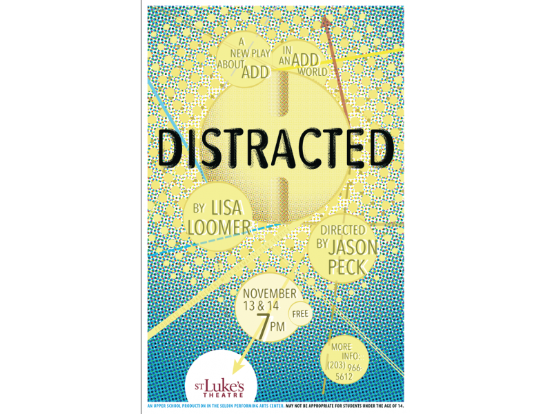 """St. Luke's US Fall Play """"Distracted"""" This Weekend 