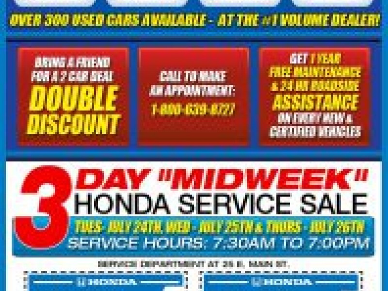 MIDNIGHT MADNESS Event At Honda Of New Rochelle  7/25