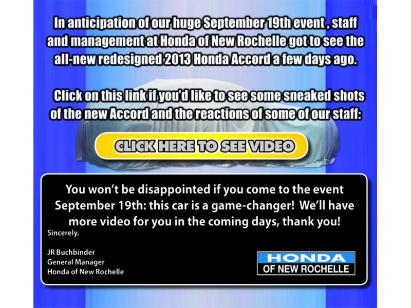 MIDNIGHT MADNESS Event At Honda Of New Rochelle  9/19