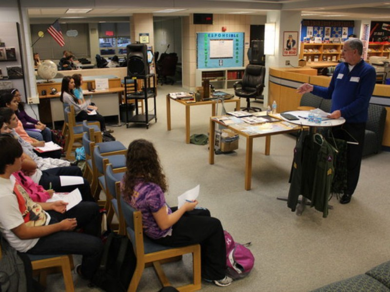Veterans teach history to dgs students downers grove il patch veterans teach history to dgs students sciox Gallery