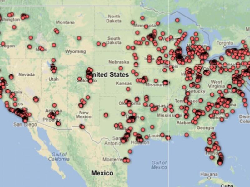 Newsweek High School Rankings Map Wheaton North