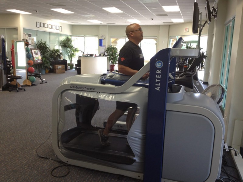 Revolutionary Treadmill Alters Gravity and Conventional Physical Therapy