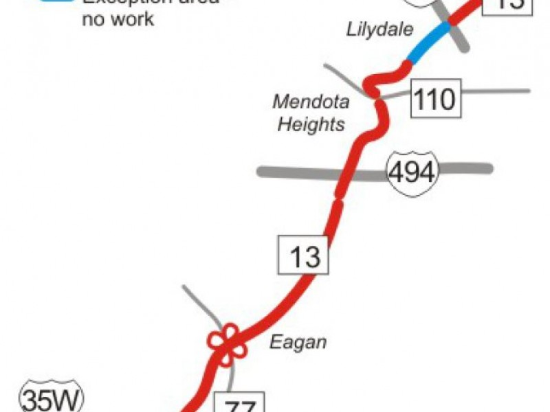 Inver Grove Ford >> Highway 13 Construction Set to Begin in May for Mendota ...