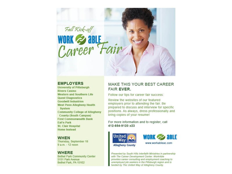 WorkAble partnership to hold fall career fair for Greater Pittsburgh