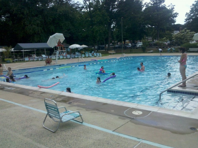 Little Hunting Park And Pool Reopens After Fire Old Town Alexandria Va Patch