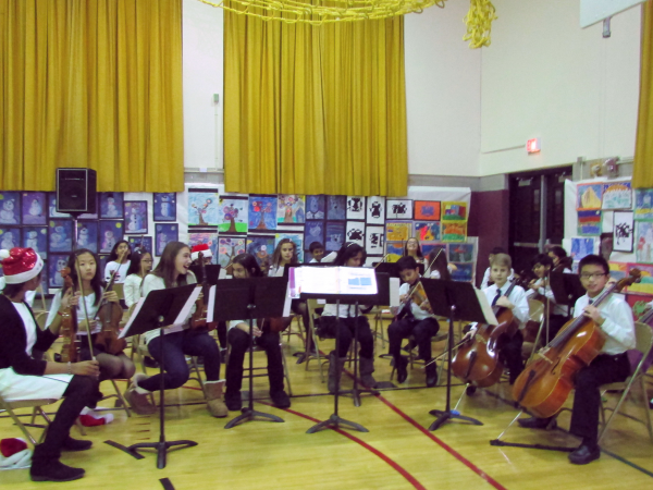 Manor Oaks School Holds 2013 Holiday Concert New Hyde Park Ny Patch