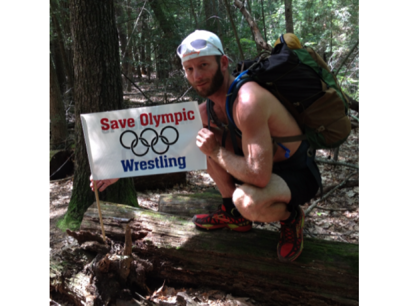 Granby Man Hiking Appalachian Trail to Save Olympic Wrestling