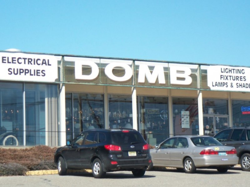 update domb lighting history to be auctioned off morris township