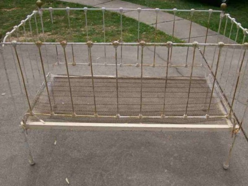 For Sale: Vintage Wrought Iron Crib | Forest Hills, NY Patch