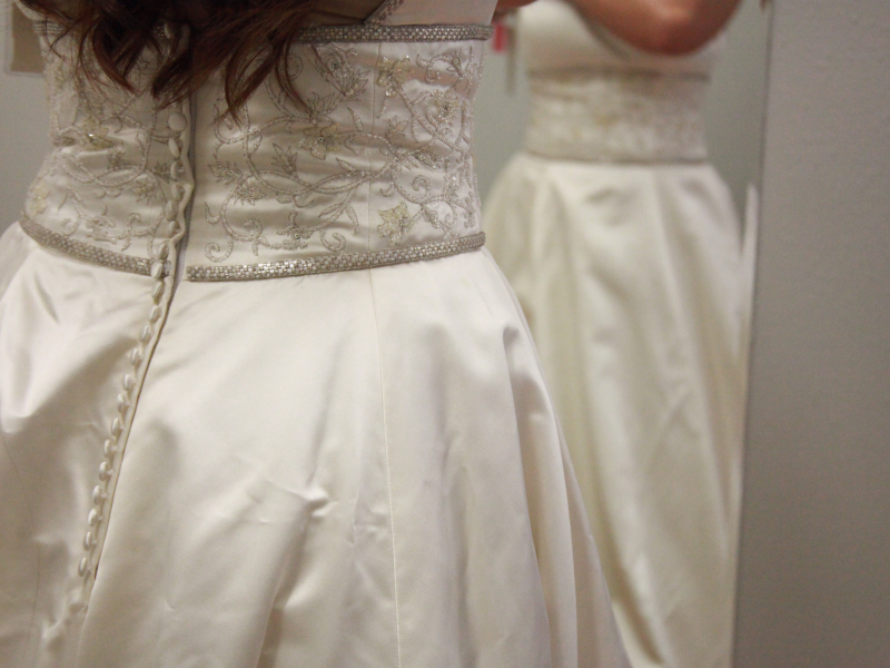 Confessions Of A Budget Bride Goodwill Hunting For The Perfect