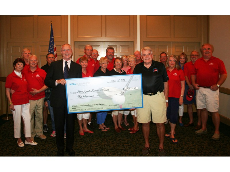 Neal communities contributes to boca royale semper fi fund for Semper fi fund rating