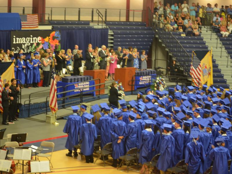 Marlboro Middle School Students Celebrate Graduation
