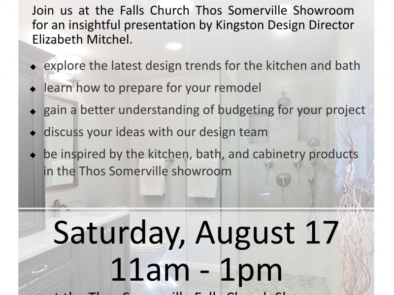 Free Remodeling Seminar   Kitchen And Bath Planning