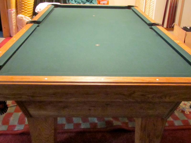 Merveilleux Pool Table, 8ft Olhausen Sheraton Model | Burlington, MA Patch