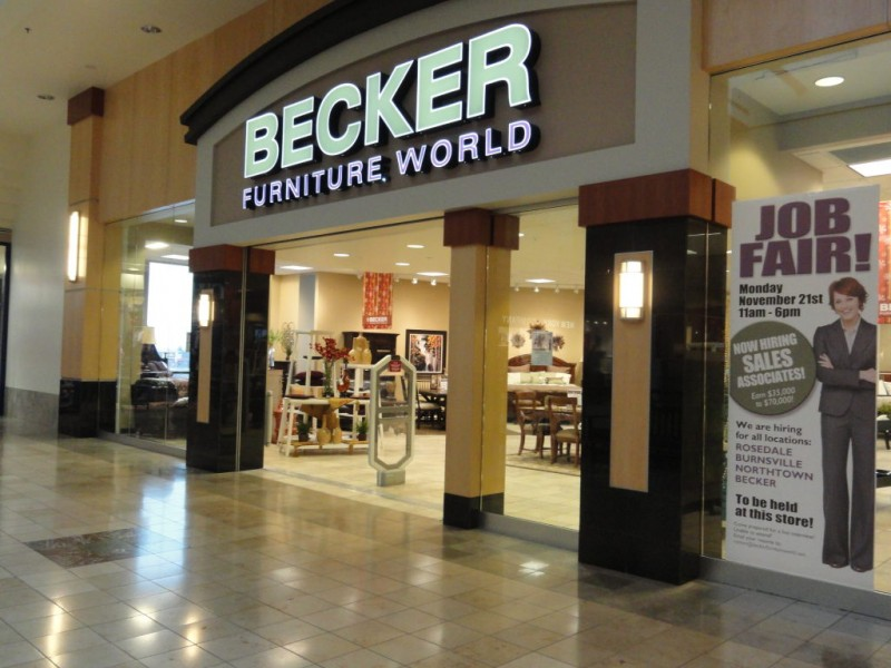New To Roseville In 2011: Becker Furniture World