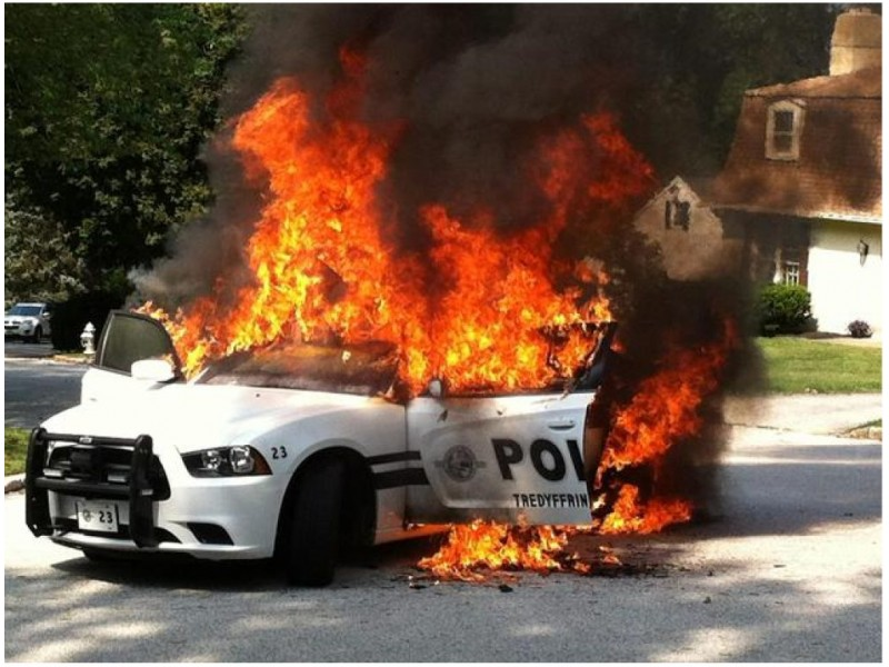 New Details In Tredyffrin Police Car Fire